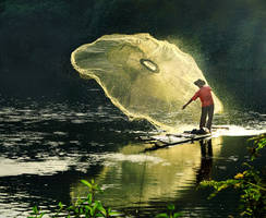 Fishing man 2