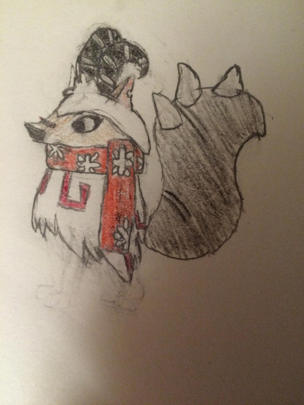 Animal Jam Arctic Wolf By Sweetsour567 A How To Draw