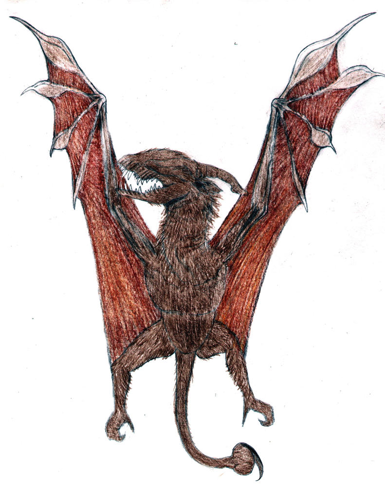 drakk bat dragon by - photo #14
