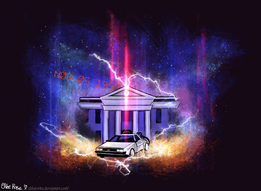 Back To The Future Wallpaper By ChloeWho On DeviantArt