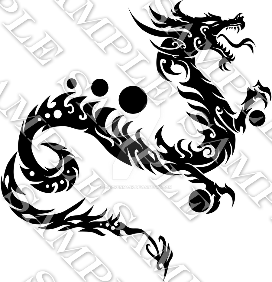 year of the dragon by chickenmask on deviantart. Black Bedroom Furniture Sets. Home Design Ideas