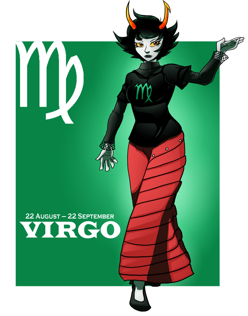 You Are Virgo by chickenMASK on DeviantArt