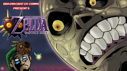 Brainscratch Comms - LoZ: Majora's Mask by chickenMASK