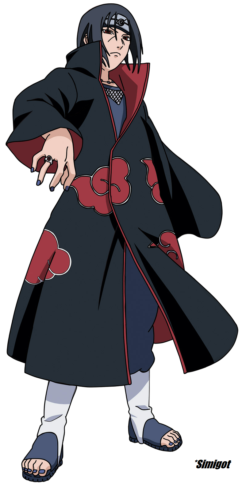 Itachi Uchicha by simigot on DeviantArt