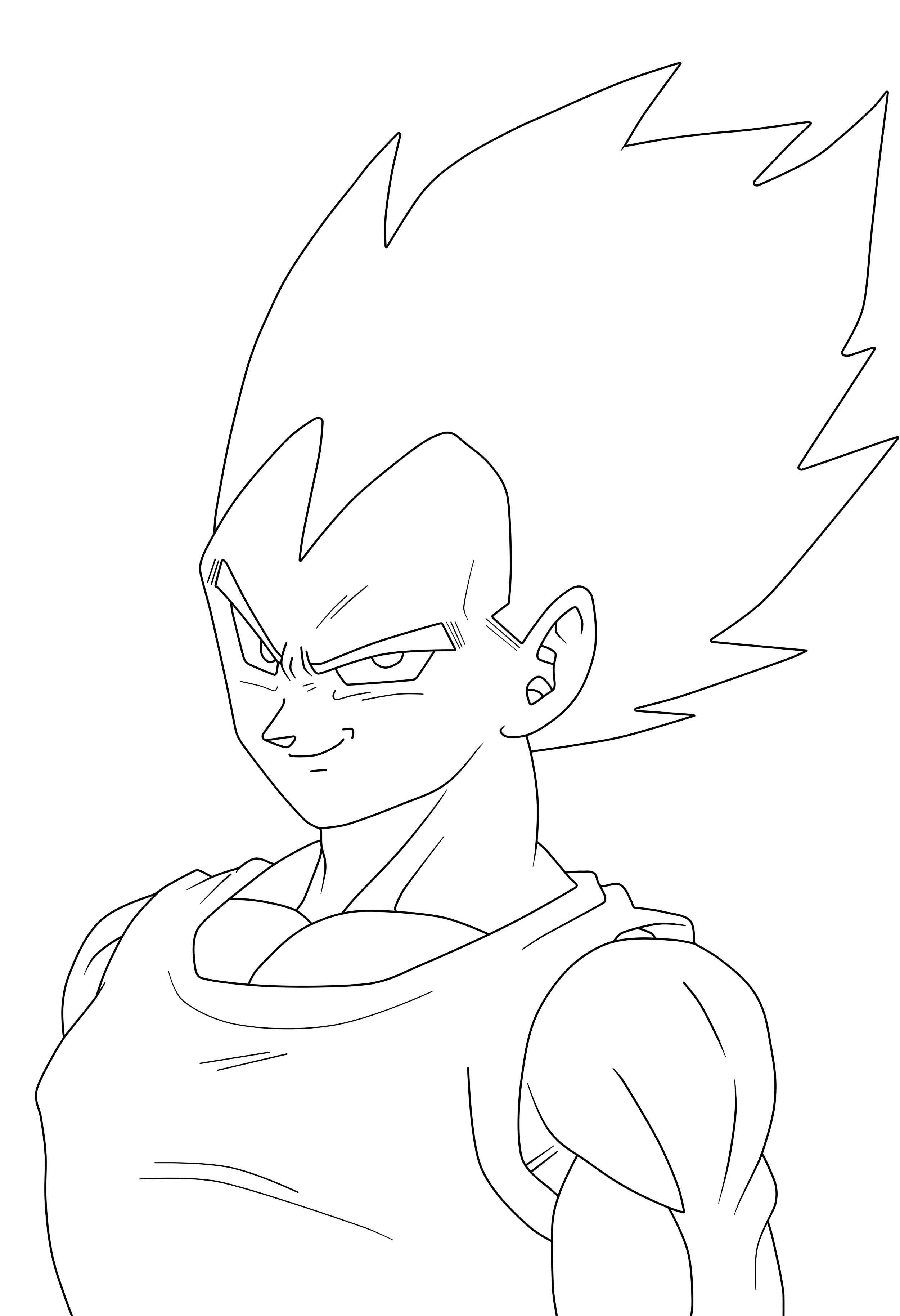 D Line Drawings You Tube : Vegeta majin buu saga lineart by simigot on deviantart