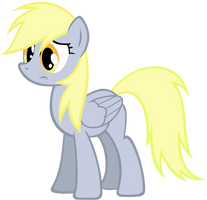 Sad Derpy by SuperPonytime