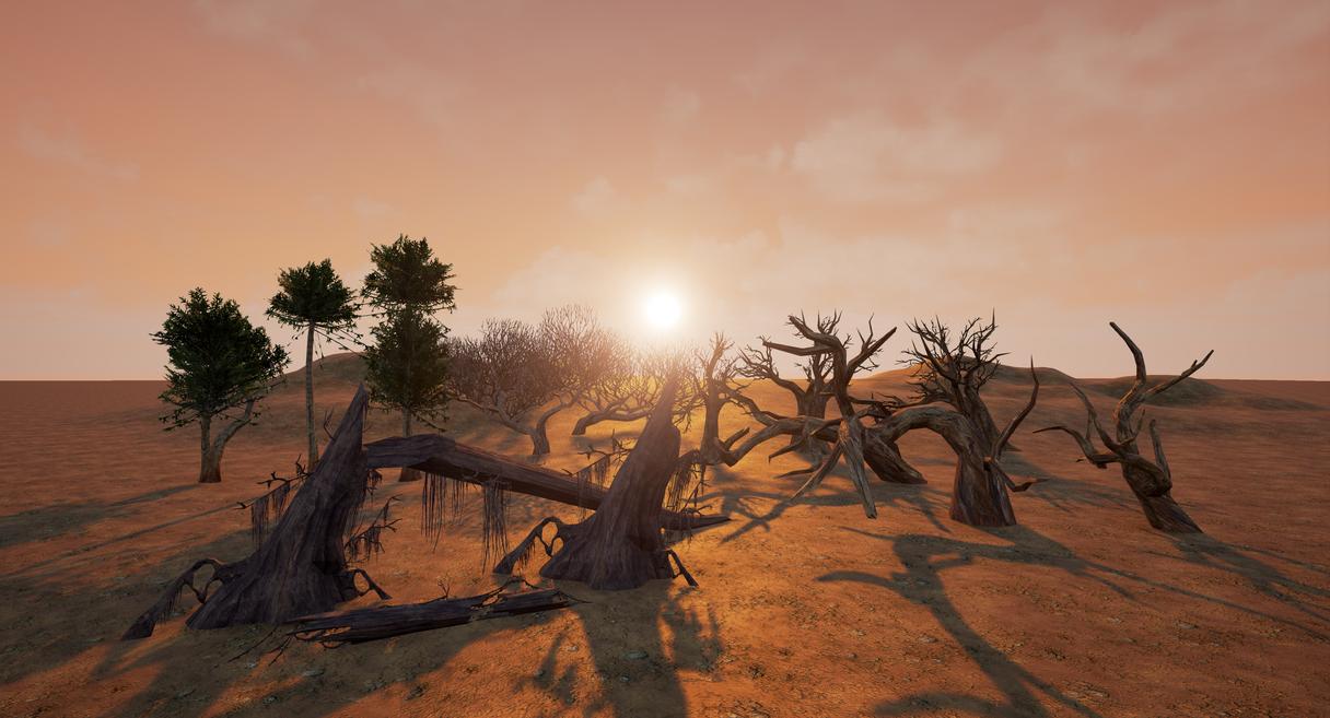 Desert Tree by Uyil17