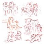 quick OC sketches
