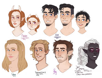 DnD| Roy's Family| EDIT and Information added! by RomyvdHel-Art