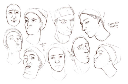 Sketches|Drawing Practice| Silly faces