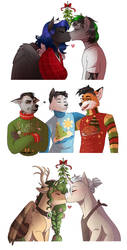 Holiday YCH Results by RomyvdHel-Art