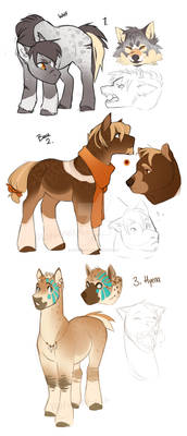 MLP Shapeshifter and Werecreatures ADOPT CLOSED