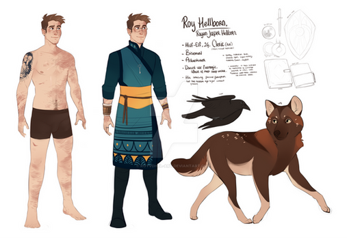 DnD|Young Roy | Reference