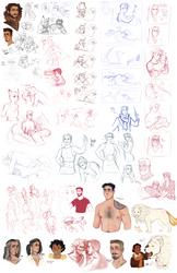 DnD|Sketchdump XIX