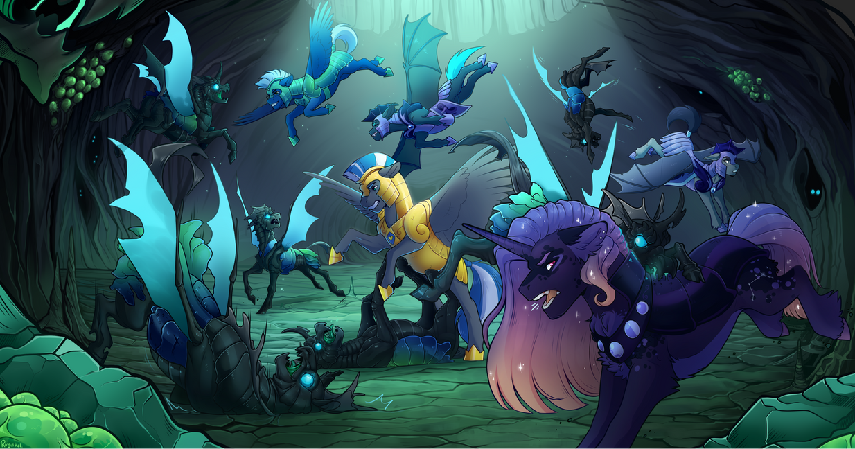 [C] Into the hive