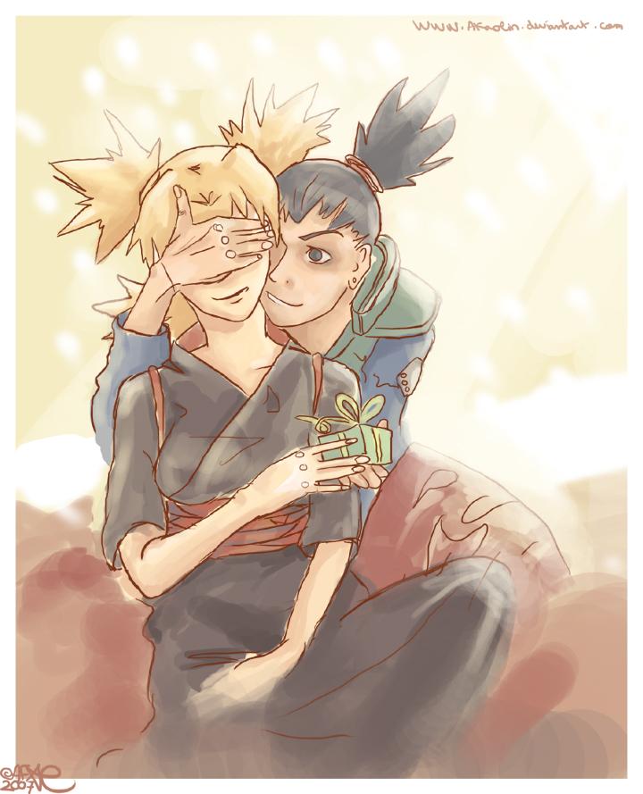 Shikamaru and Temari by Akaolin on DeviantArt