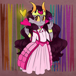 Feferi Peixes Queen of Hearts by CakeMix4565