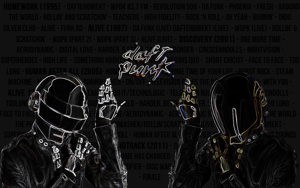Daft Punk Wallpaper by LemonSwank