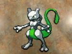 Shiny Mewtwo - Fuse Beads