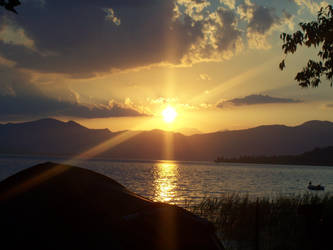 Sunset by Xenyasan