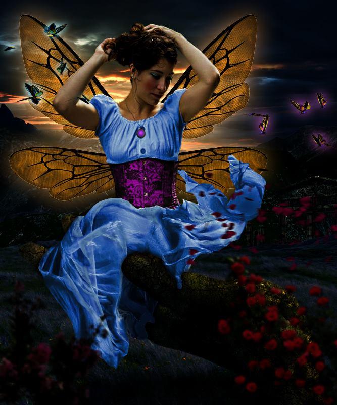 lost fairy by metodijebowie