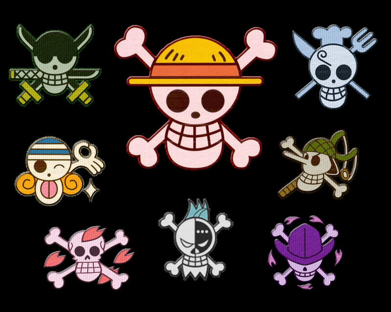 Forum Buttons Official One Piece Jolly Rogers