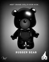 Rubber Bear by Desire Doll
