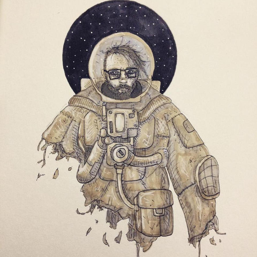 The Astronaut by Shilpit