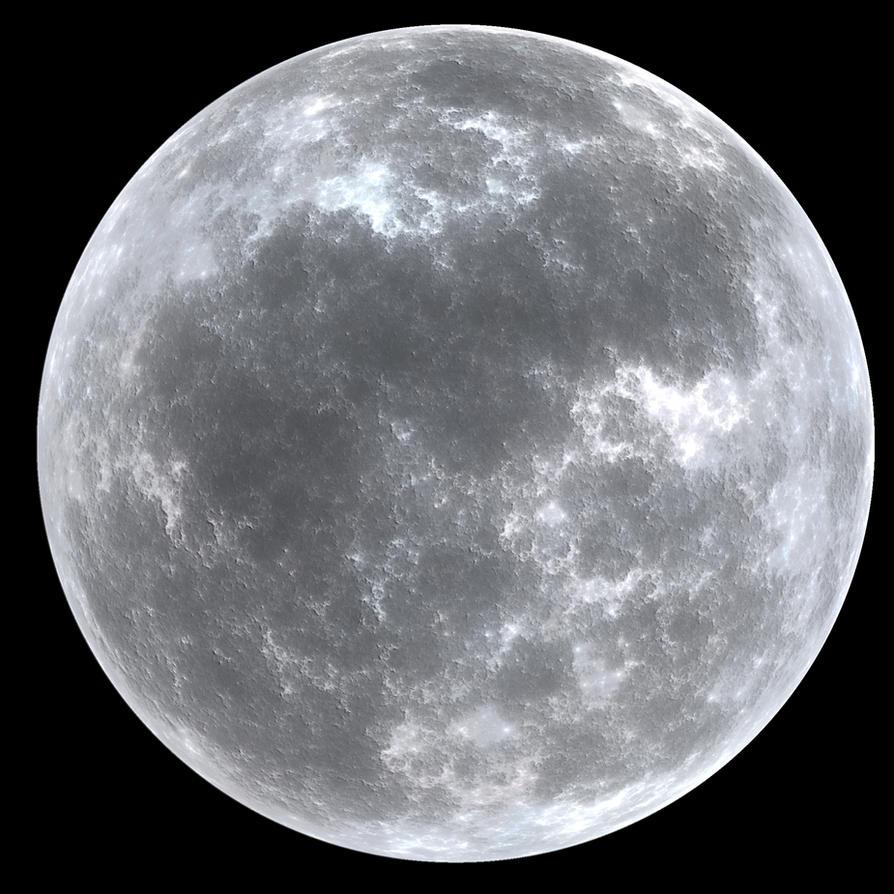 Moon II by PaulineMoss