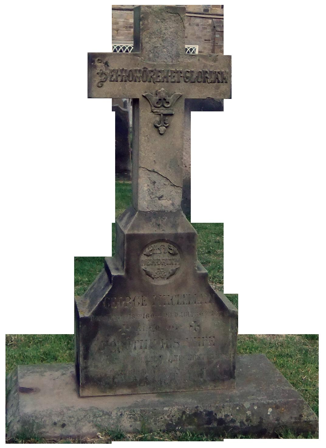 Tombstone Cross by Pau...