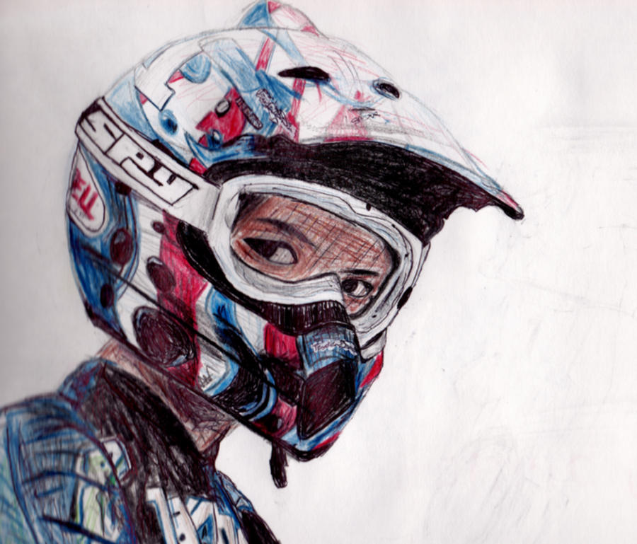Motocross Art Paintings