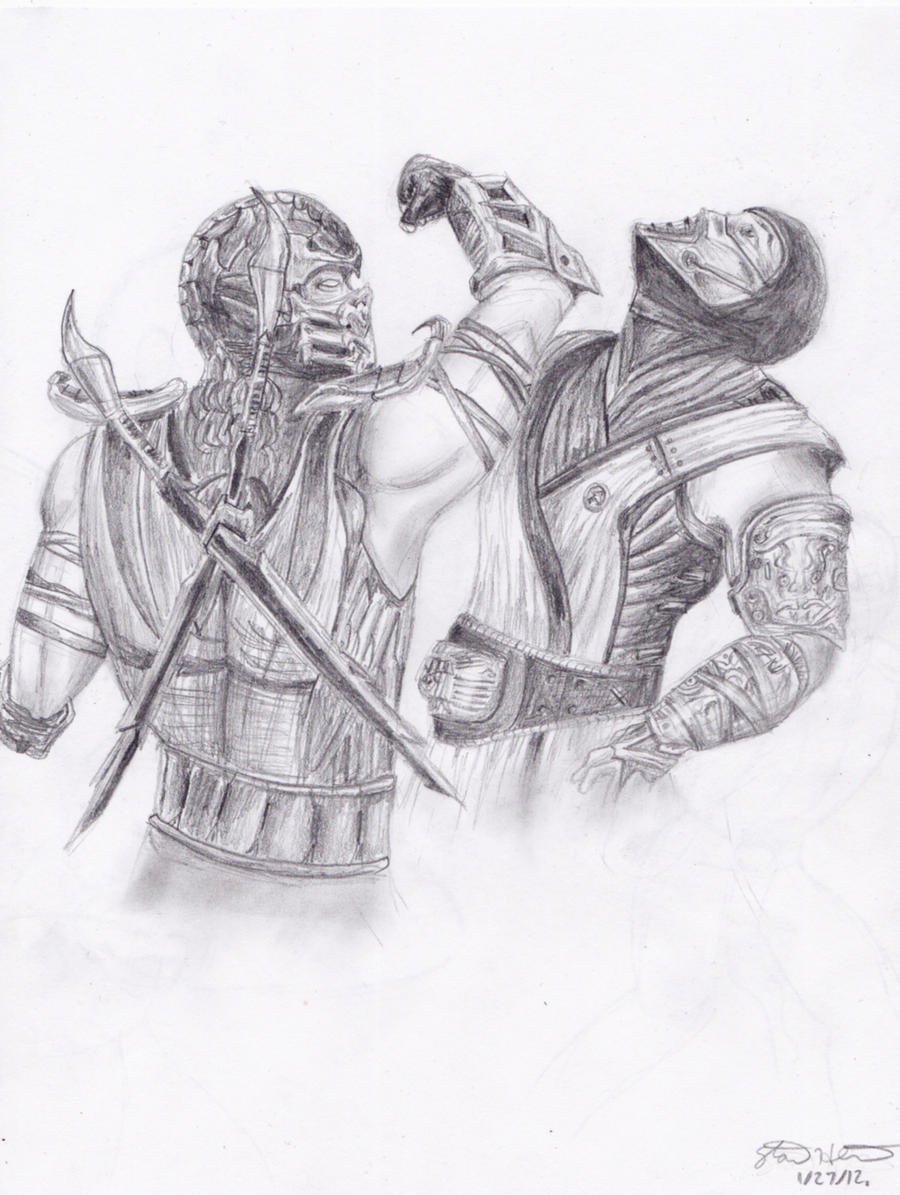 Mortal Kombat: Scorpion and Sub-Zero by StanTheMan02 on ...