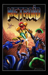 Metroid Doom Poster by StanTheMan02