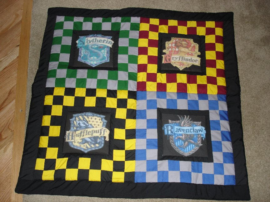 The Harry Potter Quilt by fakexAxsmile on DeviantArt : harry potter quilt - Adamdwight.com