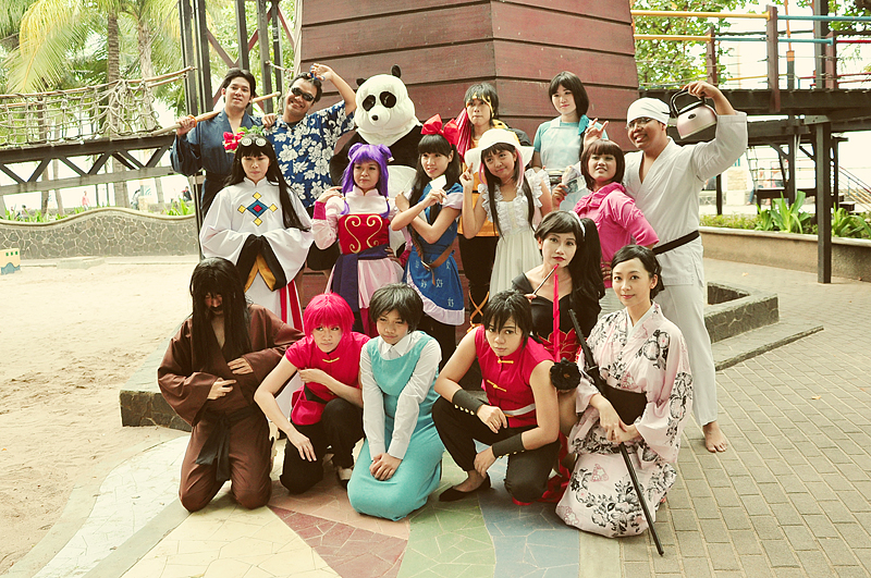 Ranma 1/2 Family by AyrOmayra