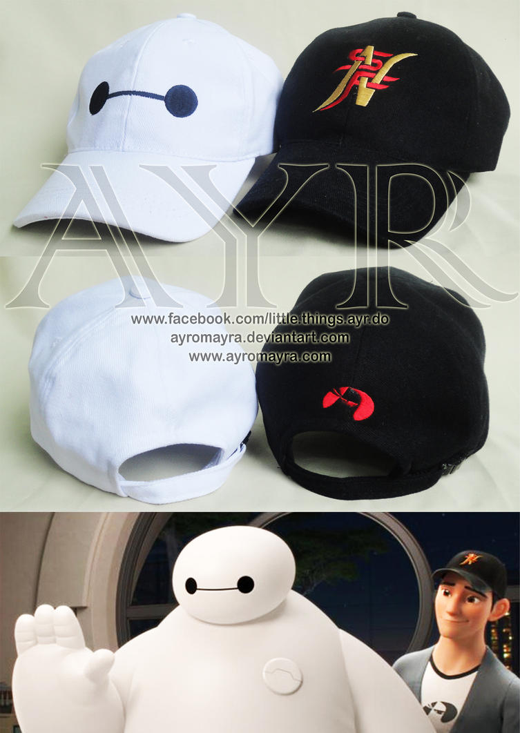 Baymax and Tadashi Hat by AyrOmayra