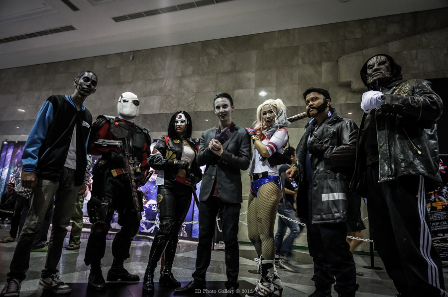Suicide Squad - movie 2016 by AyrOmayra