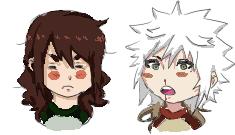 Tsukuyu and Muddy by UncouthxTribulation