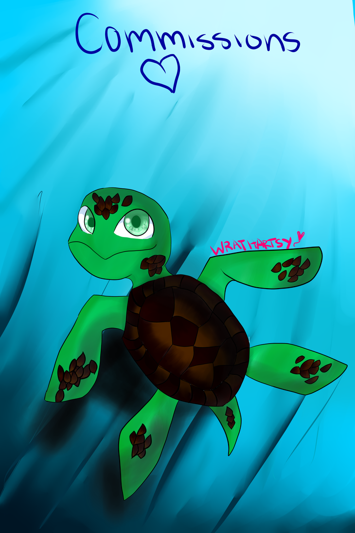 Free commissions by TMNTFANGIRL206