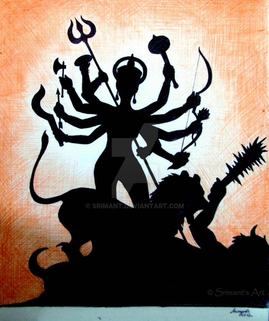 Maa Durga By Srimant On DeviantArt