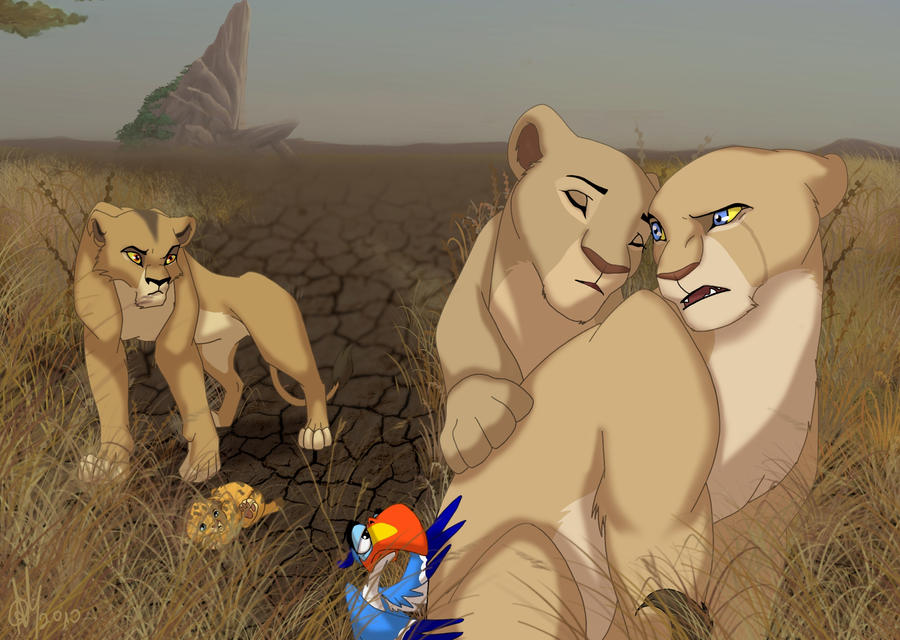 lion king nala and kovu fanfiction