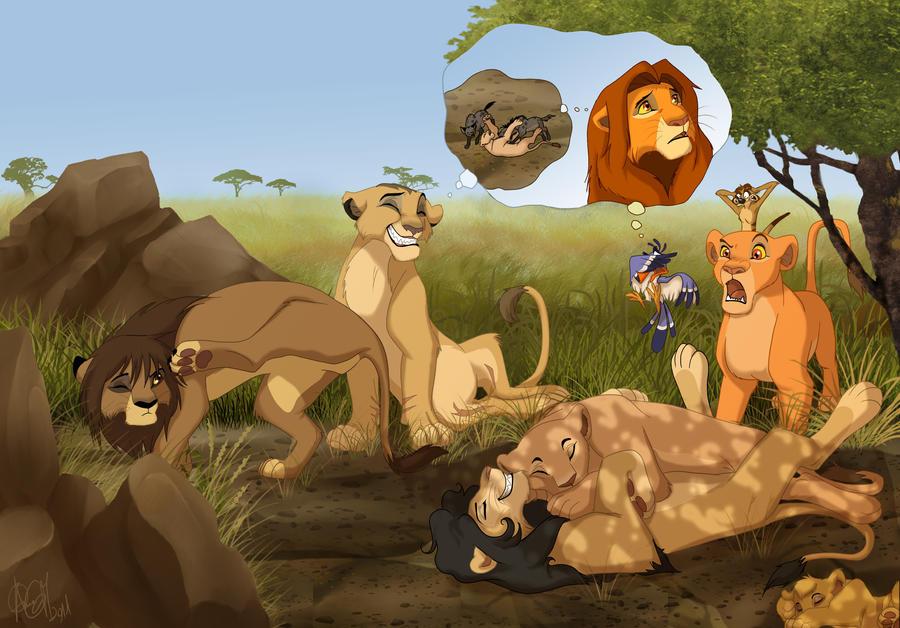 lion king fanfic gay penis