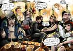 Cafe Bizon by AnnaGiladi