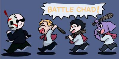Battle Chads Away!  by Potato-Dearest