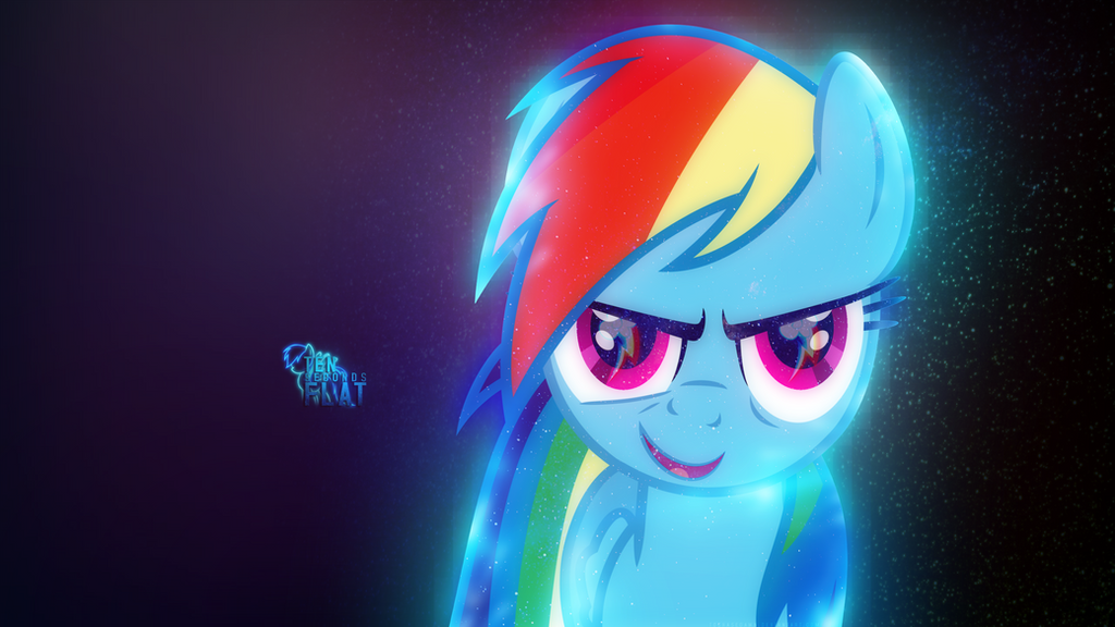 Glow | Rainbow Dash Wallpaper | 1440x2560 by ToChaseDawn