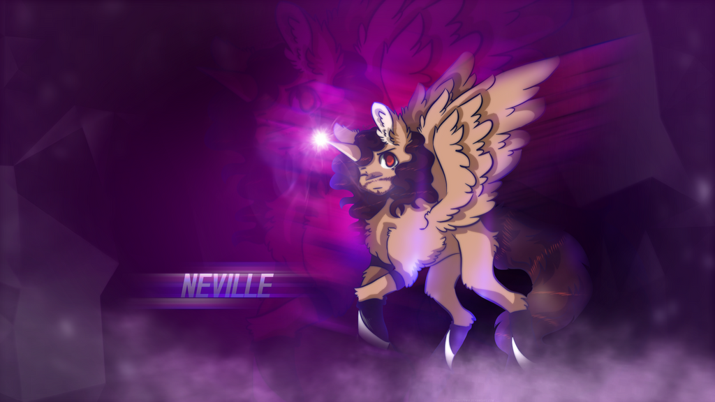 WWE Neville Alicorn gift for @SmolSammichOwO by ToChaseDawn