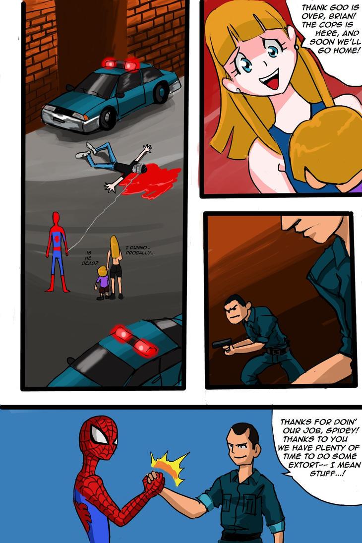 Predator vs Spiderman Page #10 by mikebloodslaver on ...