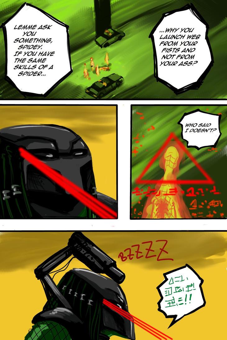 Predator vs Spiderman Page #11 by mikebloodslaver on ...