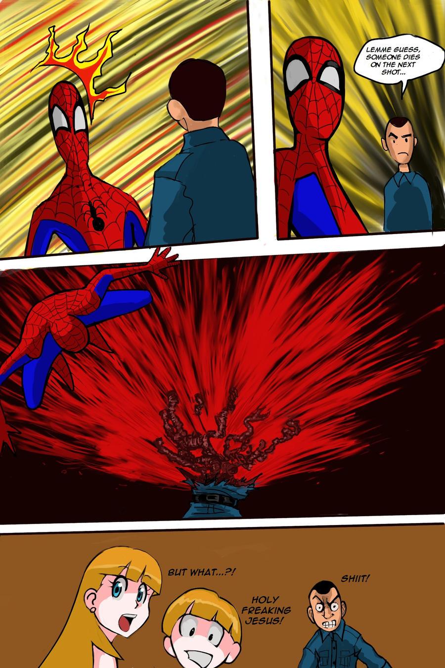 Predator vs Spiderman Page #12 by mikebloodslaver on ...