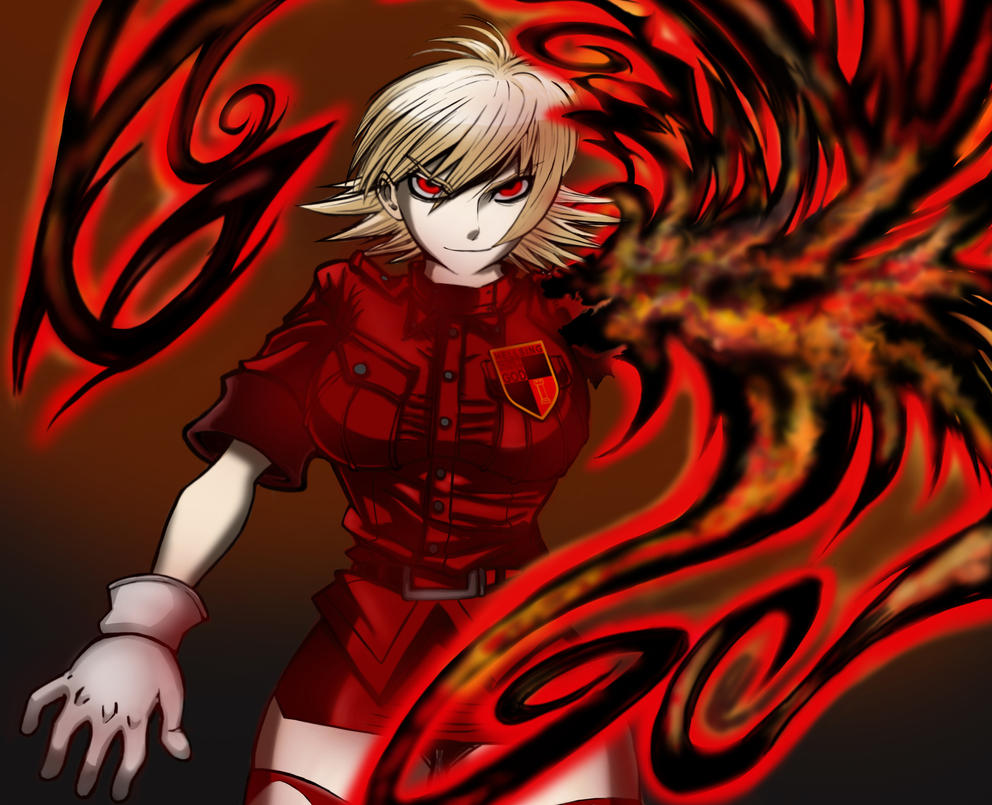 Seras Victoria: No Life Queen by mikebloodslaver on DeviantArt